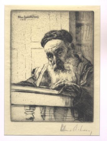 Gravure Levy - Torah / The Law