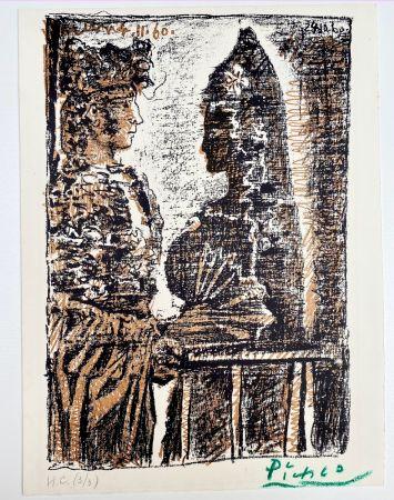 Lithographie Picasso - Torero y Señorita