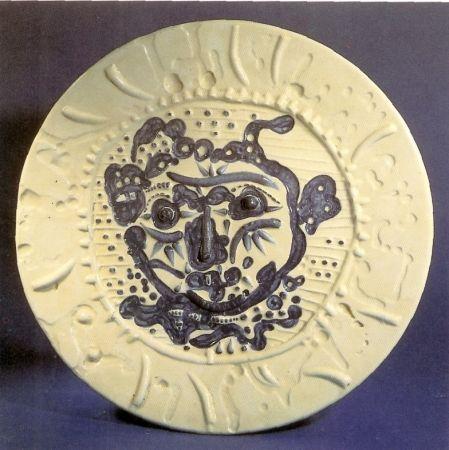 Céramique Picasso - Tormented Faun's Face