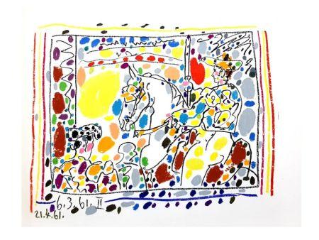 Lithographie Picasso - Toros