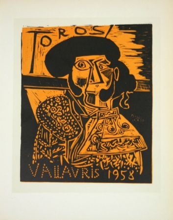 Lithographie Picasso (After) - Toros  1958