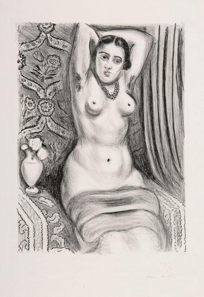 Lithographie Matisse - Torse à l'Aiguière