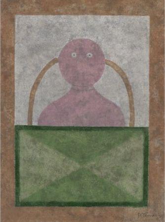 Eau-Forte Et Aquatinte Tamayo - Torso en Rosa