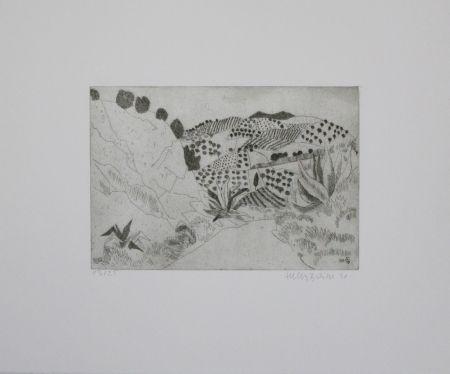 Gravure Breiter - Toskanische Landschaft / Tuscan Landscape