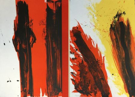 Lithographie Jones - TOTEM DIPTYCH