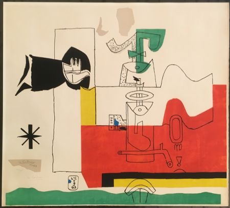 Lithographie Le Corbusier - Totem (hand-signed & numbered)