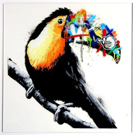 Sérigraphie Whatson - Toucan (acrylic)