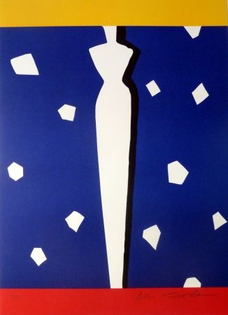 Lithographie Kuroda - Tour des Cardinaux