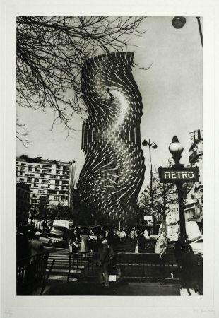Gravure Bury - Tour Montparnasse