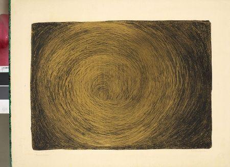 Lithographie Bergmann - Tourbillon