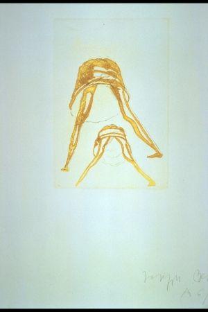 Gravure Beuys - Tränen: Petticoat