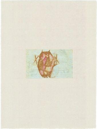 Gravure Beuys - Tränen: Schamanentrommel (grün)