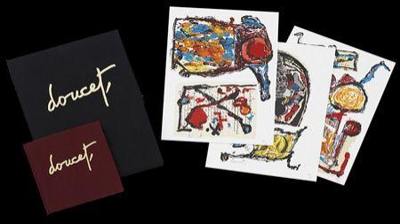 Lithographie Doucet - Traces du quotidien
