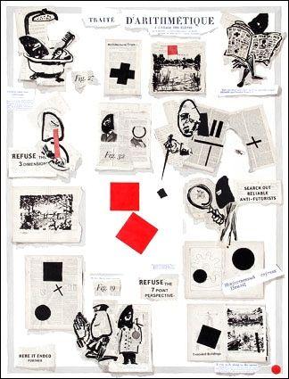 Lithographie Kentridge - Traité d'arithmétique