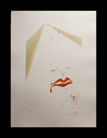 Gravure Dali - Transfiguration