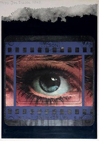 Sérigraphie Tilson - Transparency, Clip-O-Matic Eye
