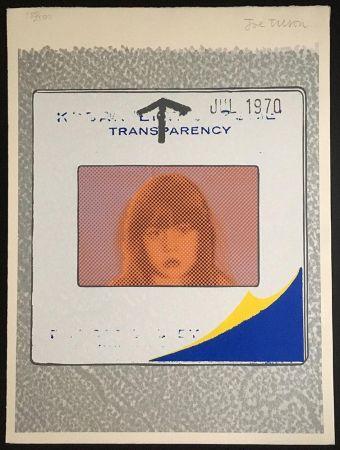 Sérigraphie Tilson - Transparency, Snapshot