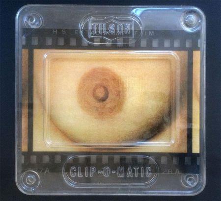 Sérigraphie Tilson - Transparency The Five Senses: Touch