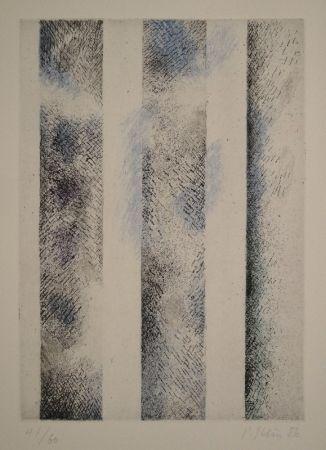 Eau-Forte Et Aquatinte Stein - Transparente Bahnen oder Gläsern