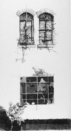 Eau-Forte Vespignani - Tre finestre