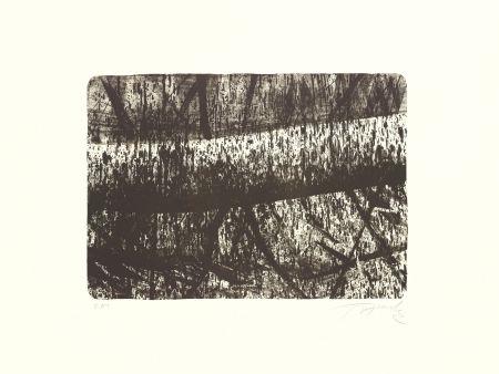 Lithographie Fontela - Tree