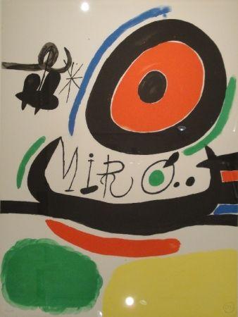 Lithographie Miró - Tres libres