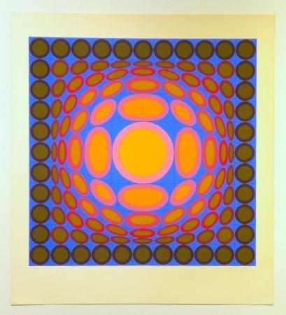 Sérigraphie Vasarely - Tri-Vega