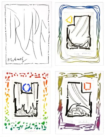Gravure Alechinsky - Triade