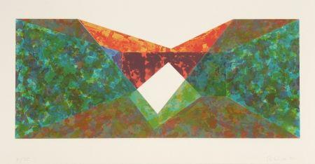 Sérigraphie Davis - Triangle Slice