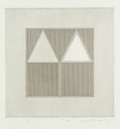 Gravure House - Triangles Within a A Square