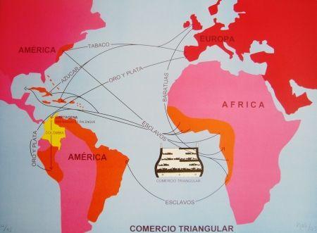 Lithographie Hoyos -  Triangulo Comercial