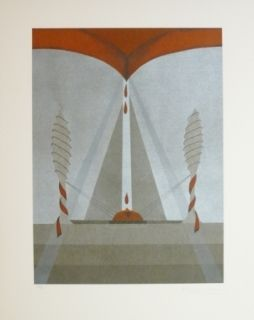 Lithographie Riera - Tribut 5