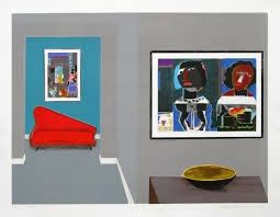 Lithographie Nhlengethwa - Tribute to Romare Bearden