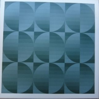 Lithographie Bird - Tribute to Vasarely 4