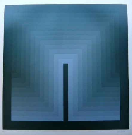Lithographie Bird - Tribute to vasarely 9