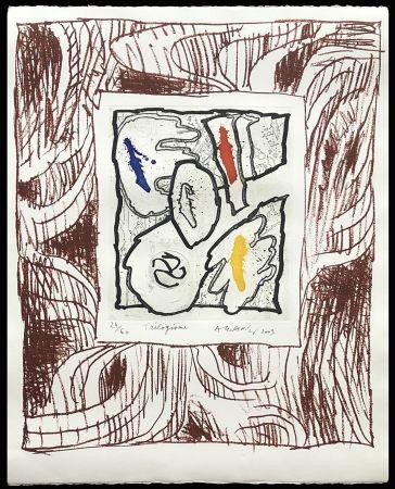 Gravure Alechinsky - '' Trilogisme ''