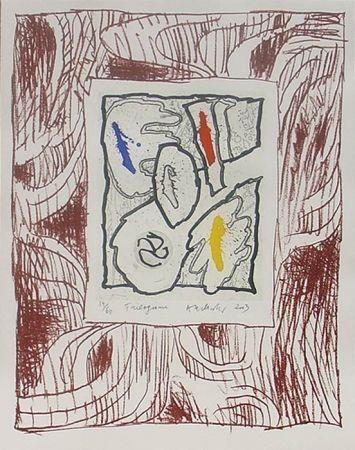 Gravure Sur Bois Alechinsky - Trilogisme