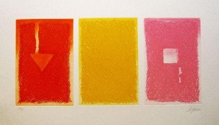 Eau-Forte Et Aquatinte De Juan - Triptica en color II