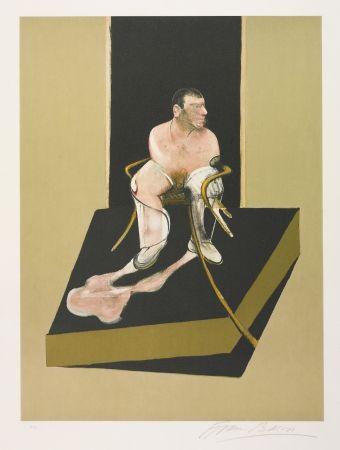Eau-Forte Et Aquatinte Bacon - Triptych 1986-1987: Study For A Portrait Of John Edwards (S. 6)