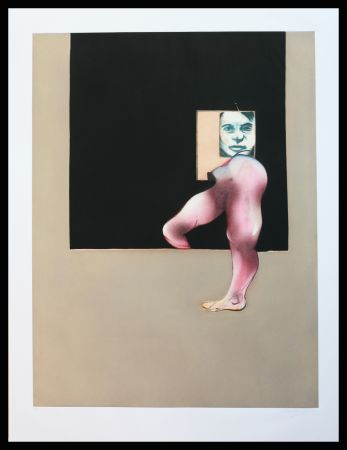 Eau-Forte Et Aquatinte Bacon - Triptych 1991 right panel