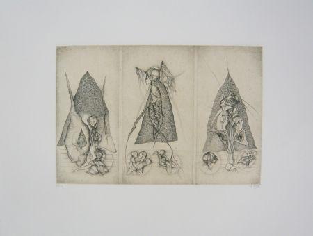 Gravure Deux - Triptyque