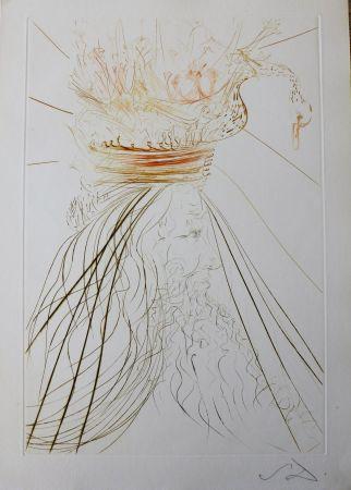 Gravure Dali - Tristan Et Iseult : Le Roi Marc