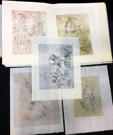 Livre Illustré Bryen - Tristan Tzara. VIGIES. 5 eaux-fortes originales (1962).
