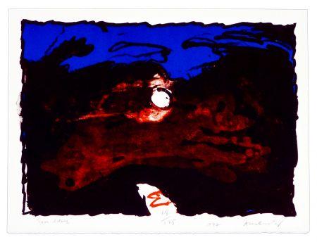 Lithographie Alechinsky - Trou Blanc