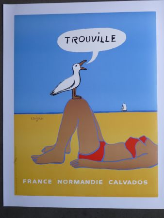 Affiche Savignac - Trouville
