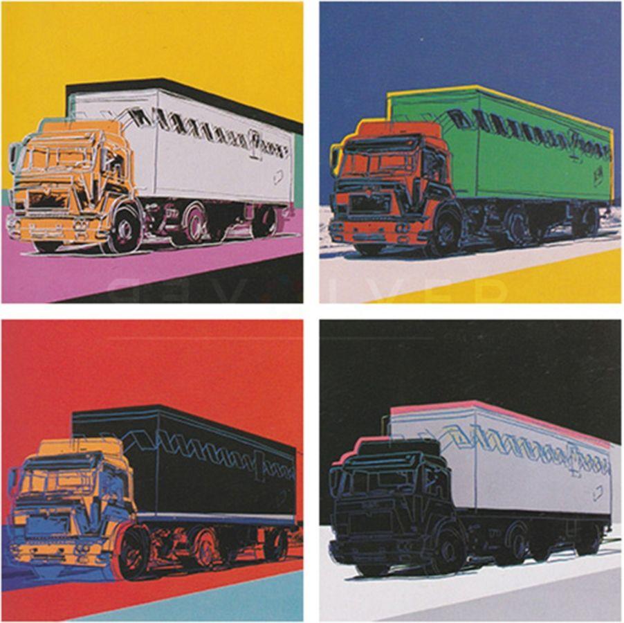 Sérigraphie Warhol - Truck Complete Portfolio