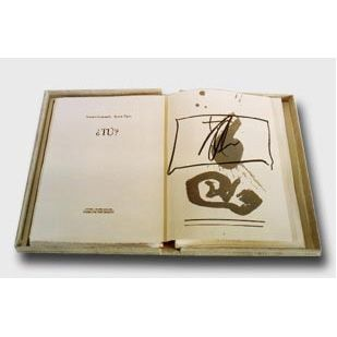 Livre Illustré Tàpies - ¿tu?