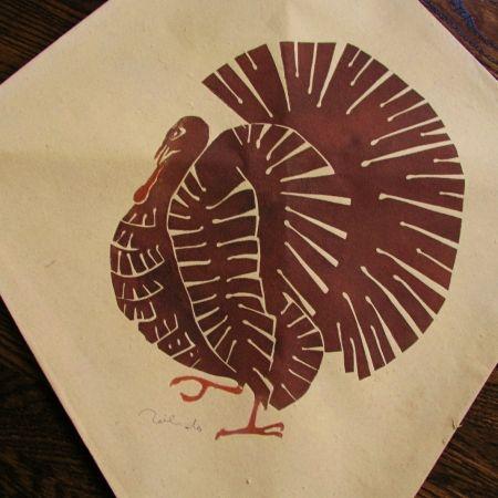 Sérigraphie Toledo - Turkey kite I