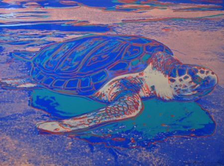 Sérigraphie Warhol - Turtle