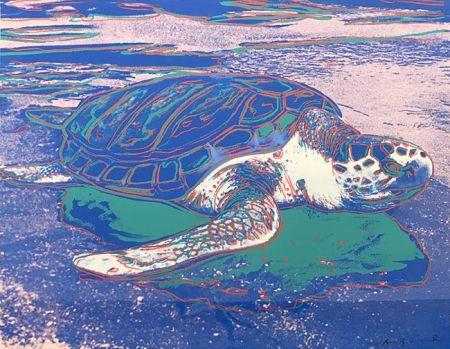 Sérigraphie Warhol - TURTLE FS II.360A